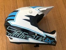 New-Old-Stock TSG Staten Full Face Helmet -- Black/Blue