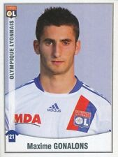 225 MAXIME GONALONS ROOKIE OLYMPIQUE LYONNAIS STICKER FOOT 2011 PANINI