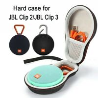 Portable EVA Hard Storage Case Carry Bag for JBL Clip 2/Clip 3 Bluetooth Speaker