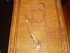 HANDCRAFTED FALCONRY  WHISTLE LANYARD