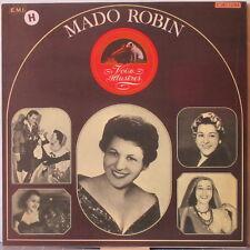 MADO ROBIN s/t LP Historic Recordings (1942-1949) – on Voix Illustres