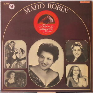 MADO ROBIN s/t LP Historic Recordings (1942-1949) – on Voix Illustres