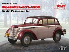 ICM 35484 Moskvitch-401-420A Soviet Passenger Car in 1:35