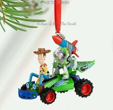 Disney Store Toy Story Buzz & Woody Sketchbook Christmas Ornament 2016 New Boxed