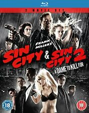 Sin City 1-2 [Blu-ray] [DVD][Region 2]