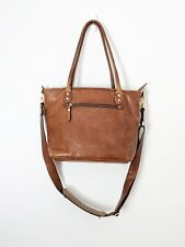 ONA Capri II Brown Distressed Leather Tote Camera Bag with Shoulder Strap
