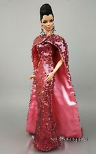 Eaki Evening Pink Dress Outfit Gown Fits Silkstone Barbie Fashion Royalty FR