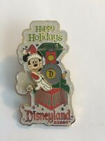 DisneyPins.com Disneyland - Happy Holidays - Mickey Mouse Disney Pin LE (B7)