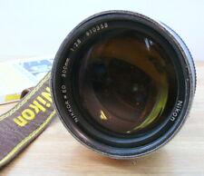 Nikon Nikkor ED 300mm F:2.8 AIs manual lens .