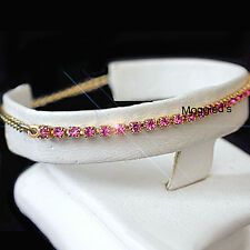 Crystal Chain Yellow Gold Filled 14k Fashion Bracelets
