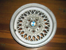 "VINTAGE BMW BBS MAHLE 14"" BASKETWEAVE RIM WHEEL E24 6 SERIES 633 635 5X120"