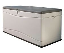 New Outdoor Lockable Lid Lifetime 60012 Extra Large 130 Gallon Storage Deck Box