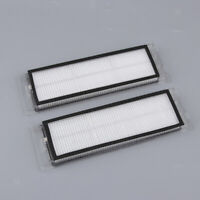 2pcs HEPA Filter Sweeper Accessories Dust Remover for Xiaomi Clean Robot