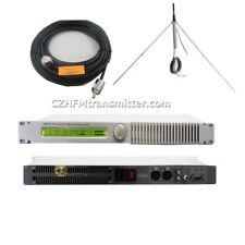 FMT5.0 0-50W PLL Professional FM transmitter 87-108Mhz GP antenna KIT New