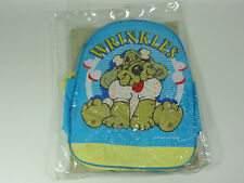 WRINKLES DOG - VERY RARE 1984 ORIGINAL BACKPACK - GANZ BROS. TOYS - NEW SEALED