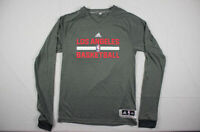 NEW adidas Los Angeles Clippers - Gray Poly Long Sleeve Shirt (Multiple Sizes)
