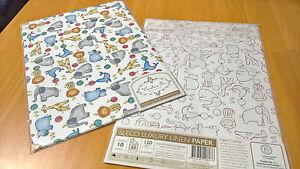 Cristina Re Eco Luxury Linen Paper - Animal Kingdom - 120gsm