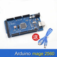 MEGA 2560 R3 ATMEGA16U2 ATMEGA2560-16AU Board + Free USB Cable For Arduino