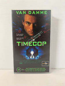TIMECOP VHS Tape - Van Damme - Cassette in like new condition! *RARE FIND*
