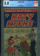 KATY KEENE #6 SOLID GRADE CGC ARCHIE COMICS WOGGON COVER AND ART COVER HOMAGE