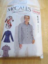 McCalls shirt pattern M7575
