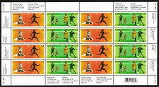 Canada Stamps -Full Pane of 16 -2004, Olympic Summer Games #2049-2050 -MNH