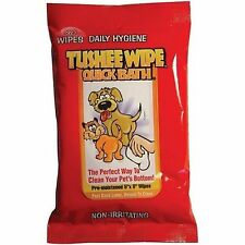 International Veterinary Sciences Quick Bath Tushee Wipe 30 Count for Dogs..