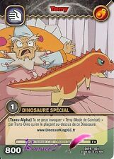 Carte Card Game DINOSAUR KING ALPHA DKPR-004 TERRY 800 VF