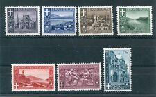 Livigno ITALIA 1944 Gomma integra, non linguellato Set 7 TIMBRI CAT euro 75