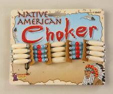NATIVE AMERICAN ADULT BEADED CHOKER