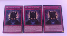 3 x YuGiOh Card - WSUP-EN031 The Door of Destiny - Prismatic Secret Rare 1st Ed