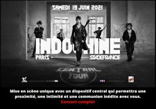 INDOCHINE 2 Places INDOCHINE Catégorie 1 Paris SDF côte à côte, Envoi Recommandé