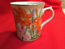 New listing Lenox Day Lily Porcelain Mug from Flower Blossom collection, excellent condition