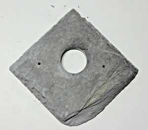 Bird nest box hole protector plate Welsh Slate 25 or 32 mm