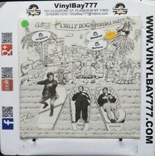 """Sealed 12"""" LP The Chilly Dogs Funeral Party 1987 Too Faced Records HM-1313"""