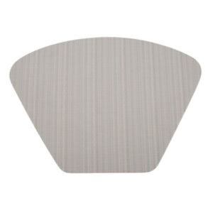 Simple Placemats PVC Pads Fan-shaped Waterproof Non-Slip Heat Insulation Mats