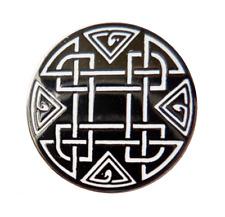 Celtic Knotwork Cross Pin Badge
