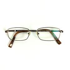 Tourneau Eyeglasses Frames T047 LBN Brown Matte Titanium Rectangular 53 18 145