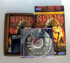 Rome Total War Barbarian Invasion PC IBM WIN WINDOWS 98SE/ME/2000/XP COMPLETE
