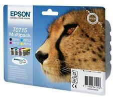 Epson Original T0715 Multipack Ink Cartridges C13T07154 T0711 T0712 T0713 T0714