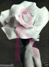 Vogue like/Poster/Vintage Art deco reproduction /Woman in a White Hat/16x22 in
