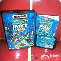 Teenage Mutant Ninja Turtles Hyperstone Heist TMNT Game Cartridge SEGA Genesis