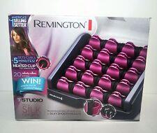 Remington H9096B T-Studio Silk Ceramic Heated Clip Setter 20-Count Hair Roller