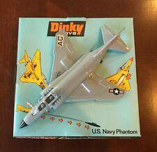 Dinky Diecast Airplane Us Navy F-4 Phantom