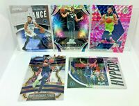 "Karl-Anthony Towns 5 Card Lot 2019-20 Prizm ""Fast Break"", Inserts Pink Camo ETC"