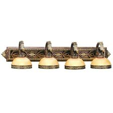 Livex Lighting Seville Bath in Palacial Bronze with Gilded Accents - 8534-64
