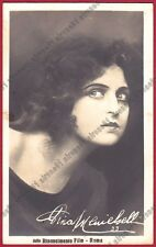 PINA MENICHELLI 19 ATTRICE ACTRESS CINEMA MUTO SILENT MOVIE - CASTROREALE
