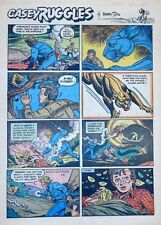 Casey Ruggles by Warren Tufts - full tab page color Sunday comic - Jan. 3, 1954