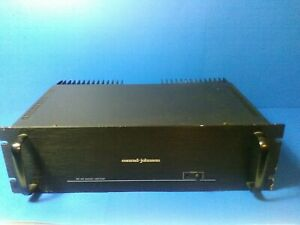 Conrad Johnson MF-80 MF80 2 channel MosFet Power Amplifier Amp