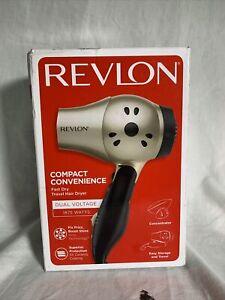 Travel Hair Dryer Revlon Professional Turbo Ionic Blower Compact 2 Speeds 1875W